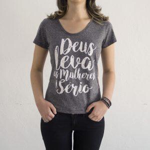Camiseta Botonê DLMS | Cinza