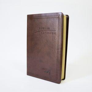 Bíblia Almeida Século 21 Luxo | Café | Com Referências Cruzadas