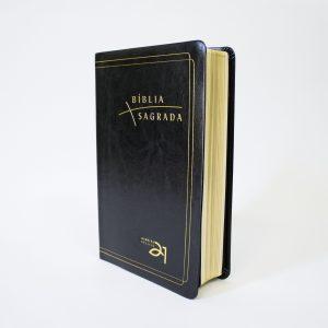 Bíblia Almeida Século 21 Luxo | Preta | Com Referências Cruzadas