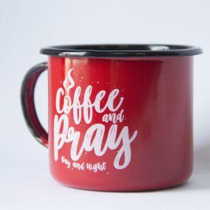 Caneca Coffee & Pray | Vermelha