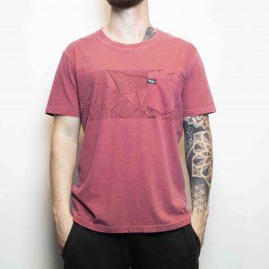 Camiseta Floripa Vermelho | Masculina