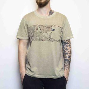 Camiseta Floripa Marron | Masculina
