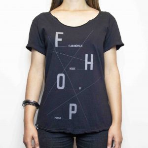 Camiseta Fhop Preta | Feminina