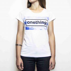 Camiseta  Onething Nuvens I Feminina