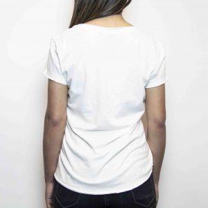 Camiseta Fhop Branca | Feminina