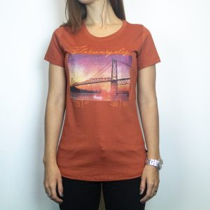 Camiseta Fhop Ponte Terra I Feminina