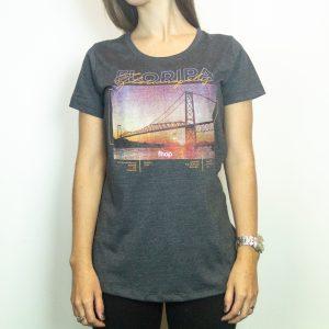 Camiseta Fhop Ponte Cinza I Feminina
