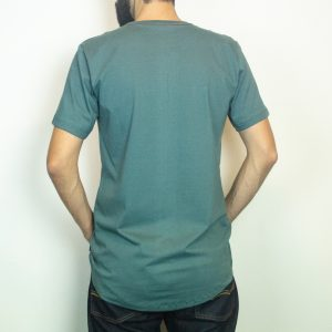 Camiseta Fhop Letras Verde I Masculina