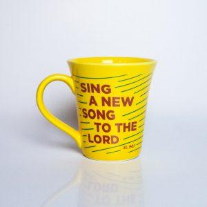 Caneca New Song – Amarela