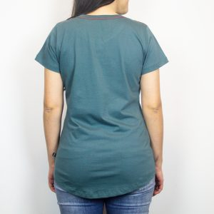 Camiseta Fhop Letras Verde I Feminina