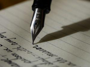 A esperança ao escrever e fé ao viver