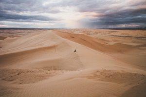 No meio do deserto