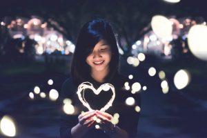 É tudo sobre receber amor!
